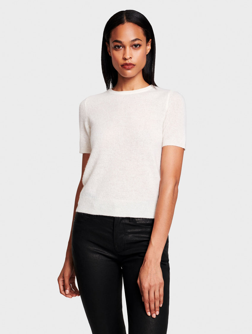 Cashmere Fitted Tee