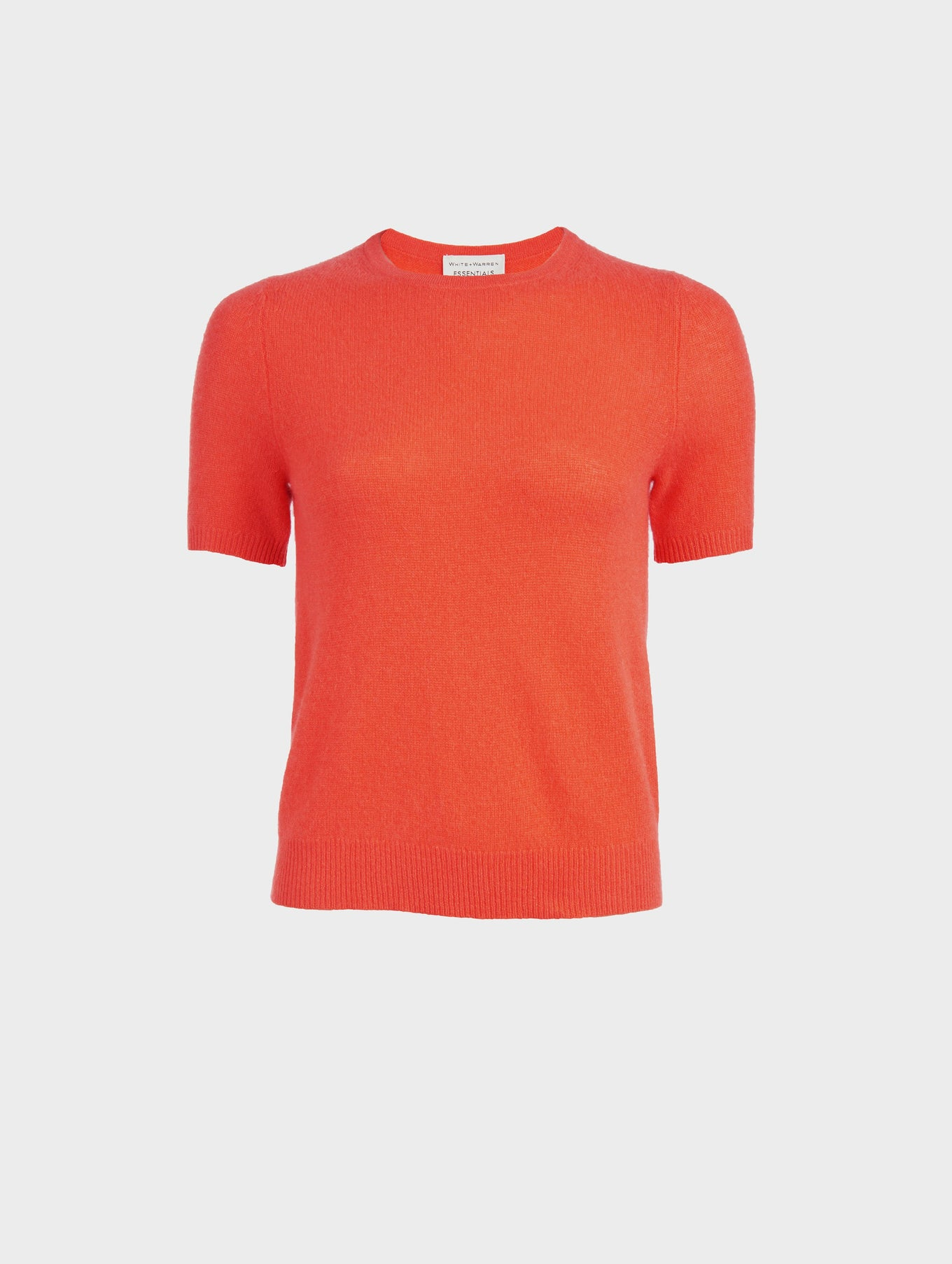 Essential Cashmere Fitted Tee