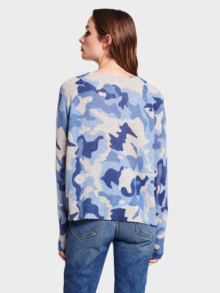 Camo Essential Cashmere Ladies Sweatshirt