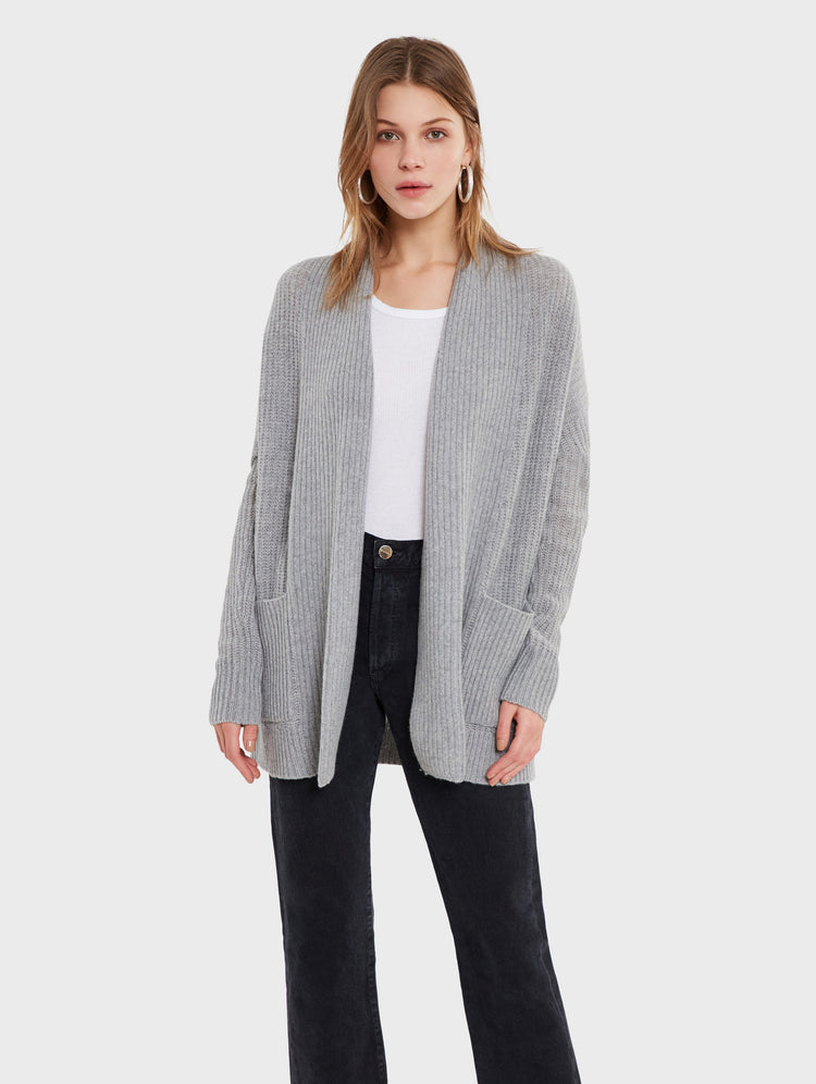 Recycled Cashmere Coatigan