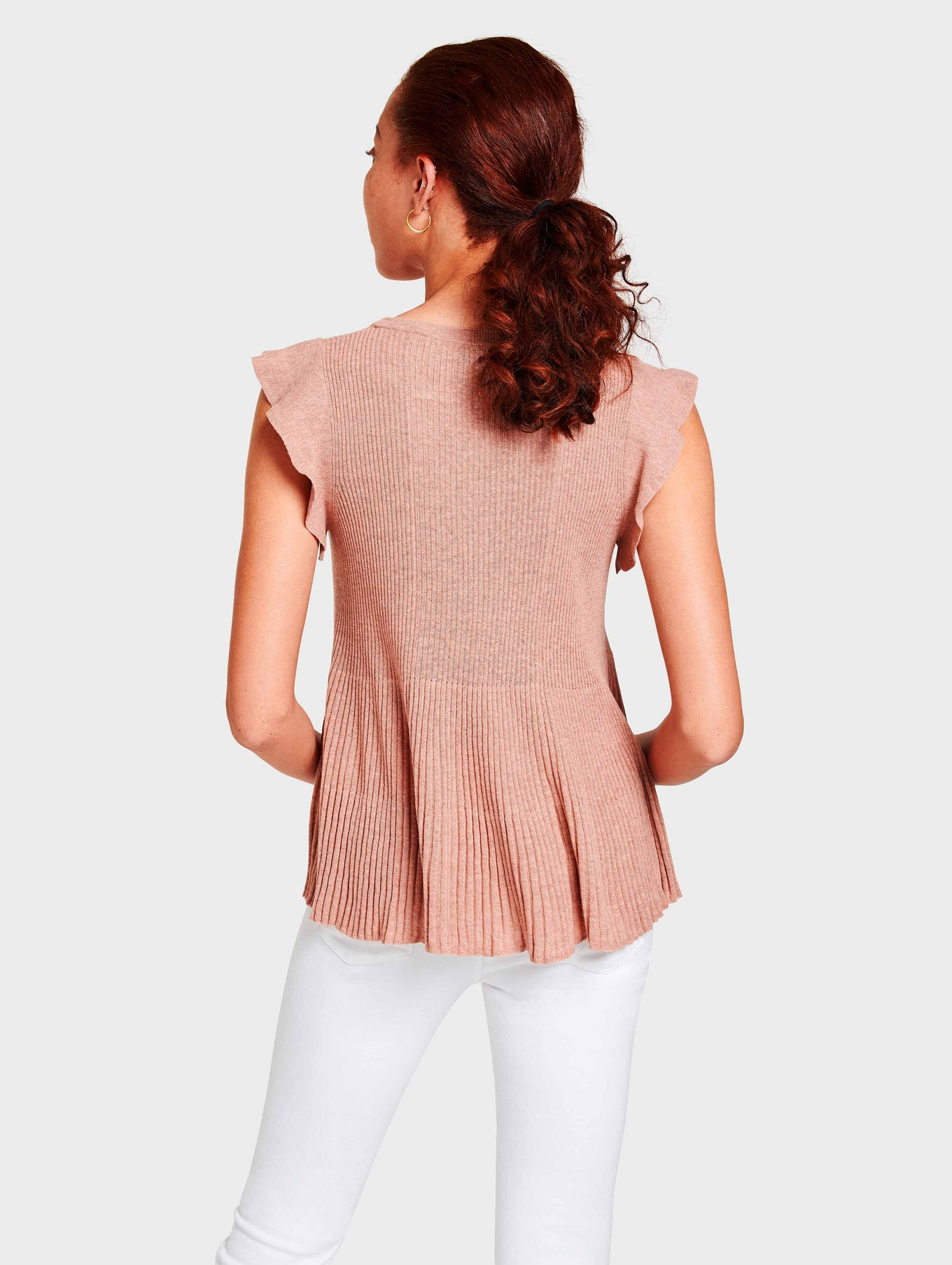 Ribbed Swing Top - Cactus Flower Heather - Image 2