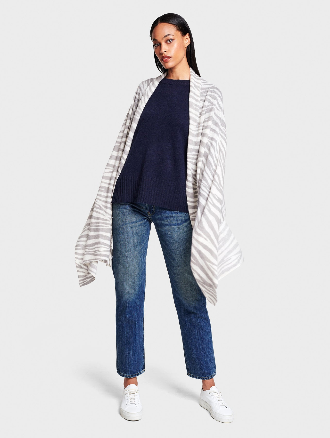 Zebra Mini Cashmere Travel Wrap