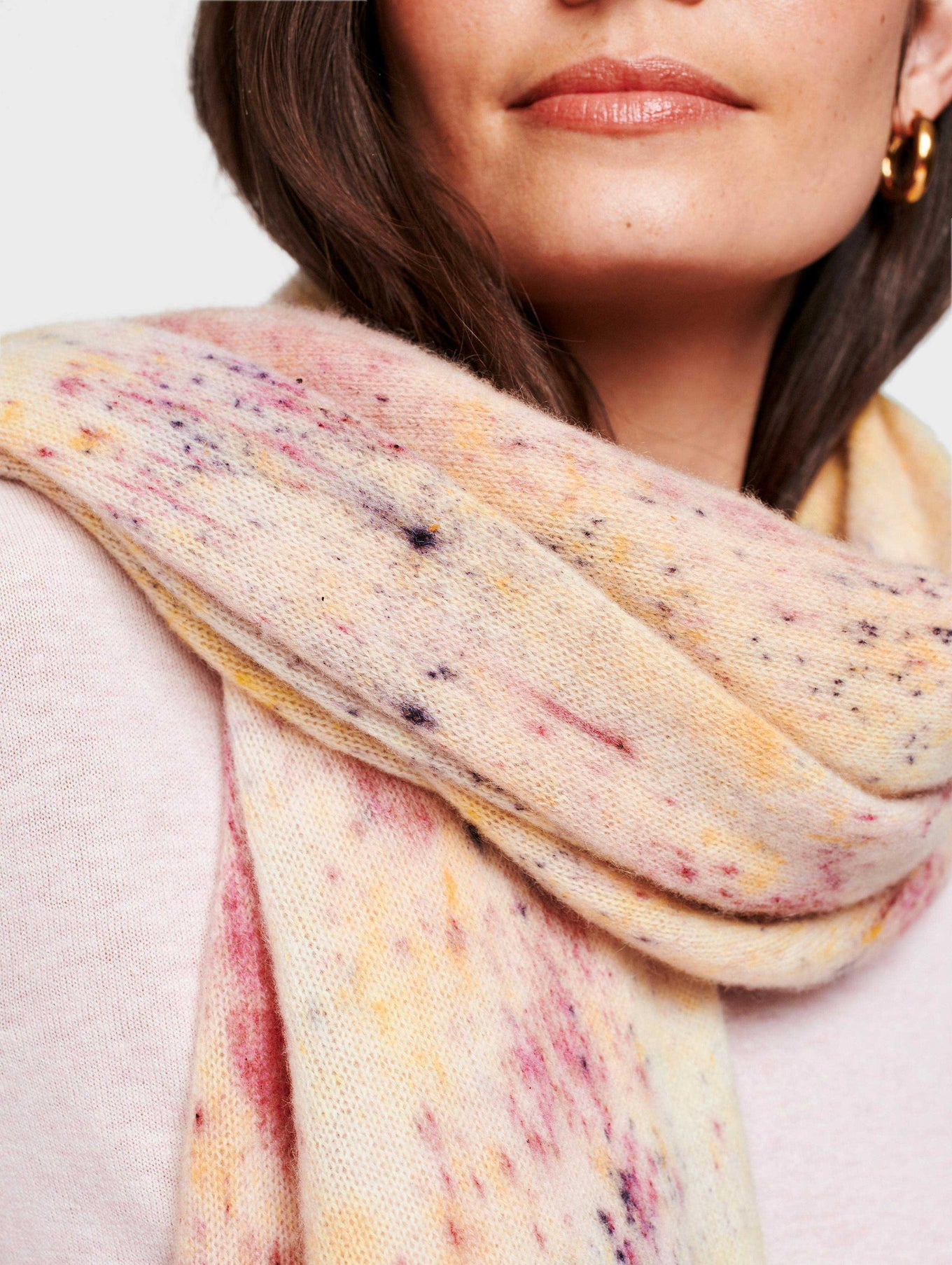 Cashmere Natural Dye Travel Wrap