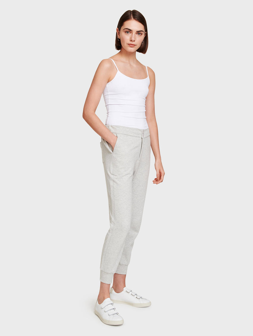 Cotton Terry Track Pant