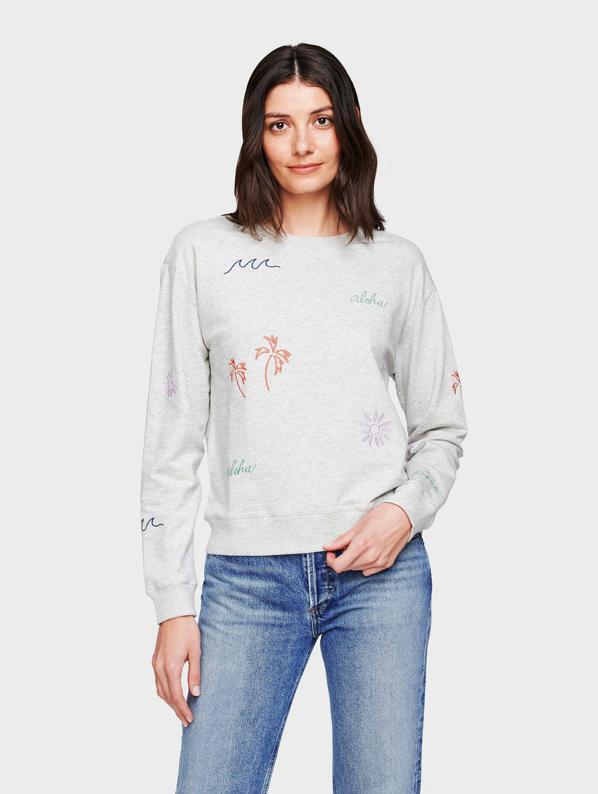 French Terry Aloha Sweatshirt