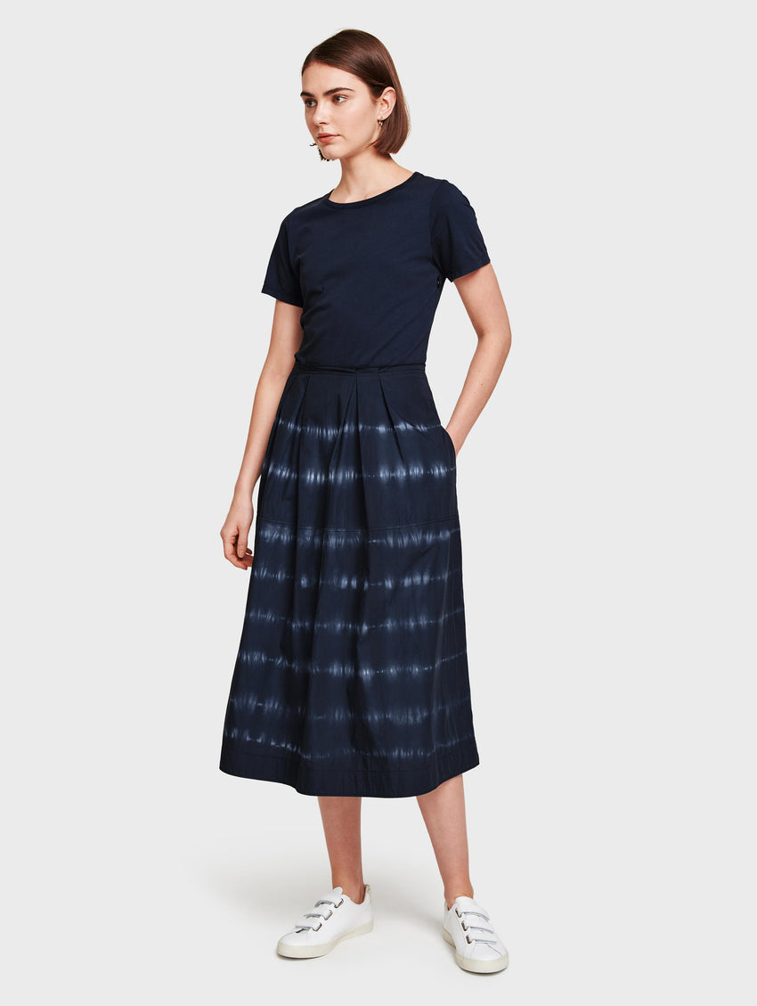 Cotton Poplin Skirt Dress
