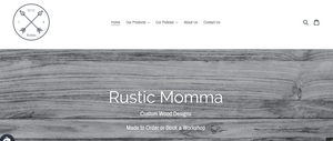 Rustic Momma Website Design