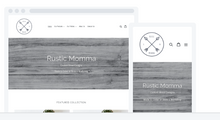 Load image into Gallery viewer, Rustic Momma Website Design