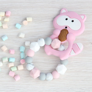 Pink Jenot Baby Teether