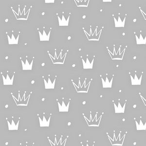 Baby Blanket With Crowns