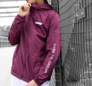 Maroon DTD Windbreaker - Fanute