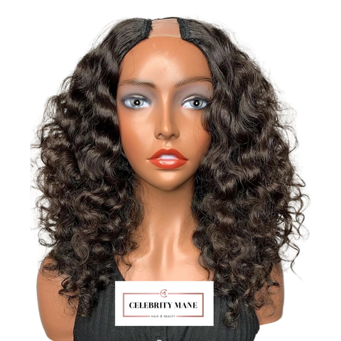 Loose Curly U-Part Wig