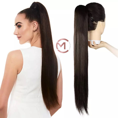 Ultra Long Sleek Straight Pony Tail