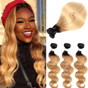 ombre blonde hair 1b/27