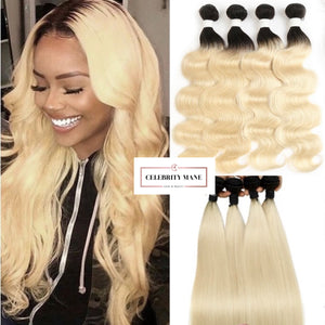 Blonde Ombre Hair 1B/613