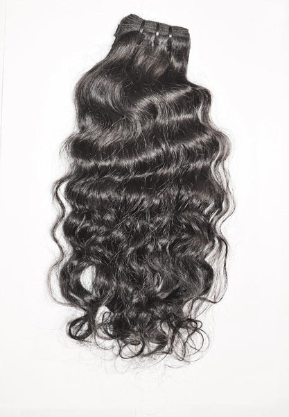 Rare Luxury Wavy Indian Temple Hair
