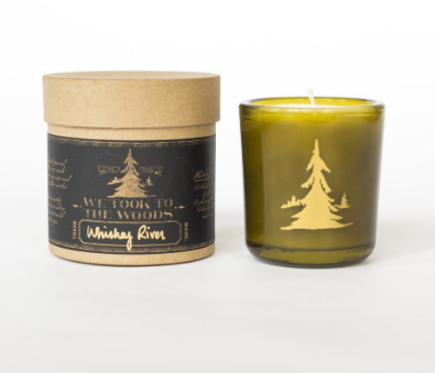 Whiskey River Candle