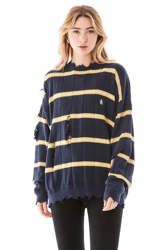 VINTAGE STRIPE SWEATER