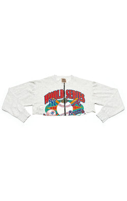 VINTAGE ZIP FRONT SPORTS SWEATSHIRT