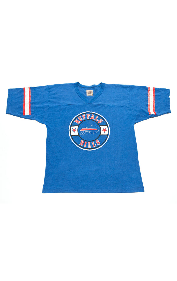 VINTAGE STRIPED SLEEVE SPORTS T-SHIRT