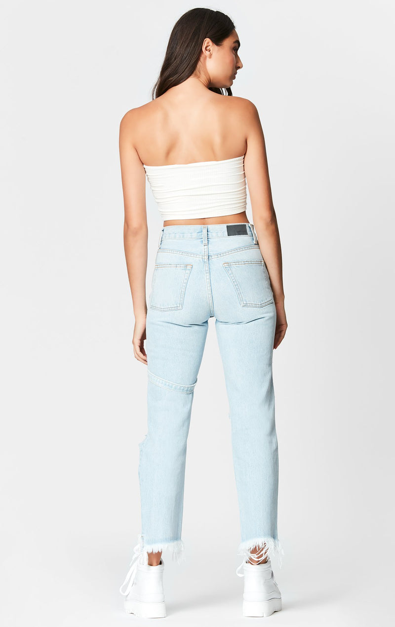 CARMAR DENIM LYRA EMELIA HARNESS JEAN CROP BACK