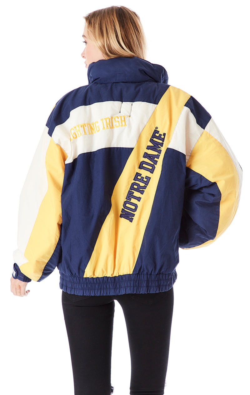 VINTAGE COLLEGE ZIP UP JACKET