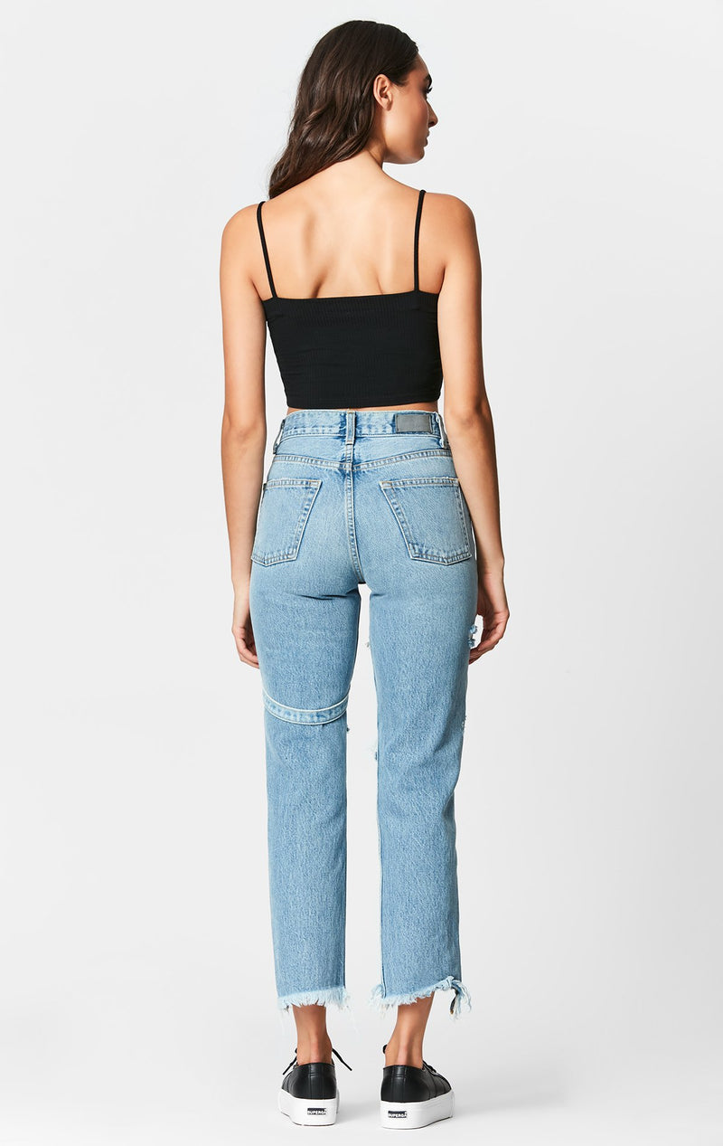 CARMAR DENIM NEPTUNE EMELIA HARNESS JEAN BACK
