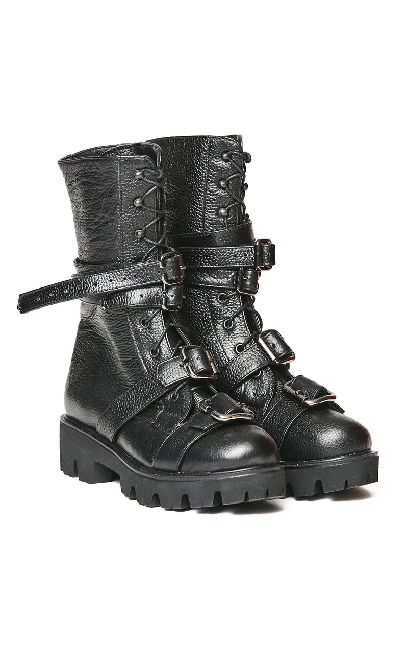 MOJA TALL COMBAT BOOT