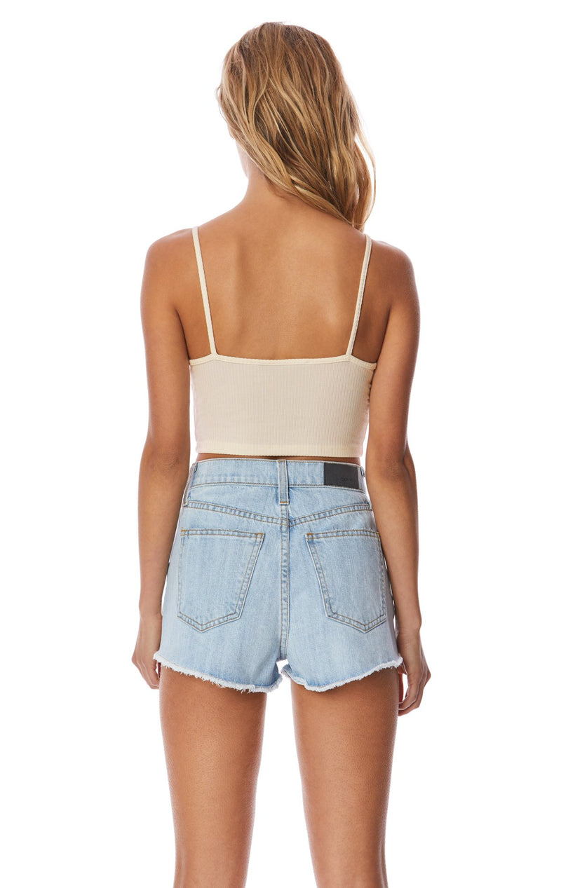 Emma & Sam: BRA NECK CROP TANK - BASIC TANK