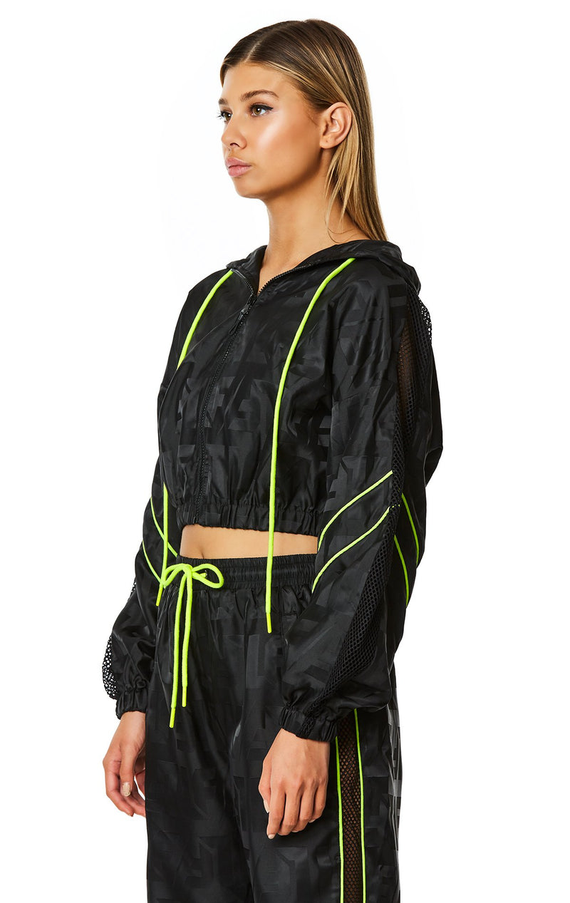 CROP WINDBREAKER JACKET ANGLE