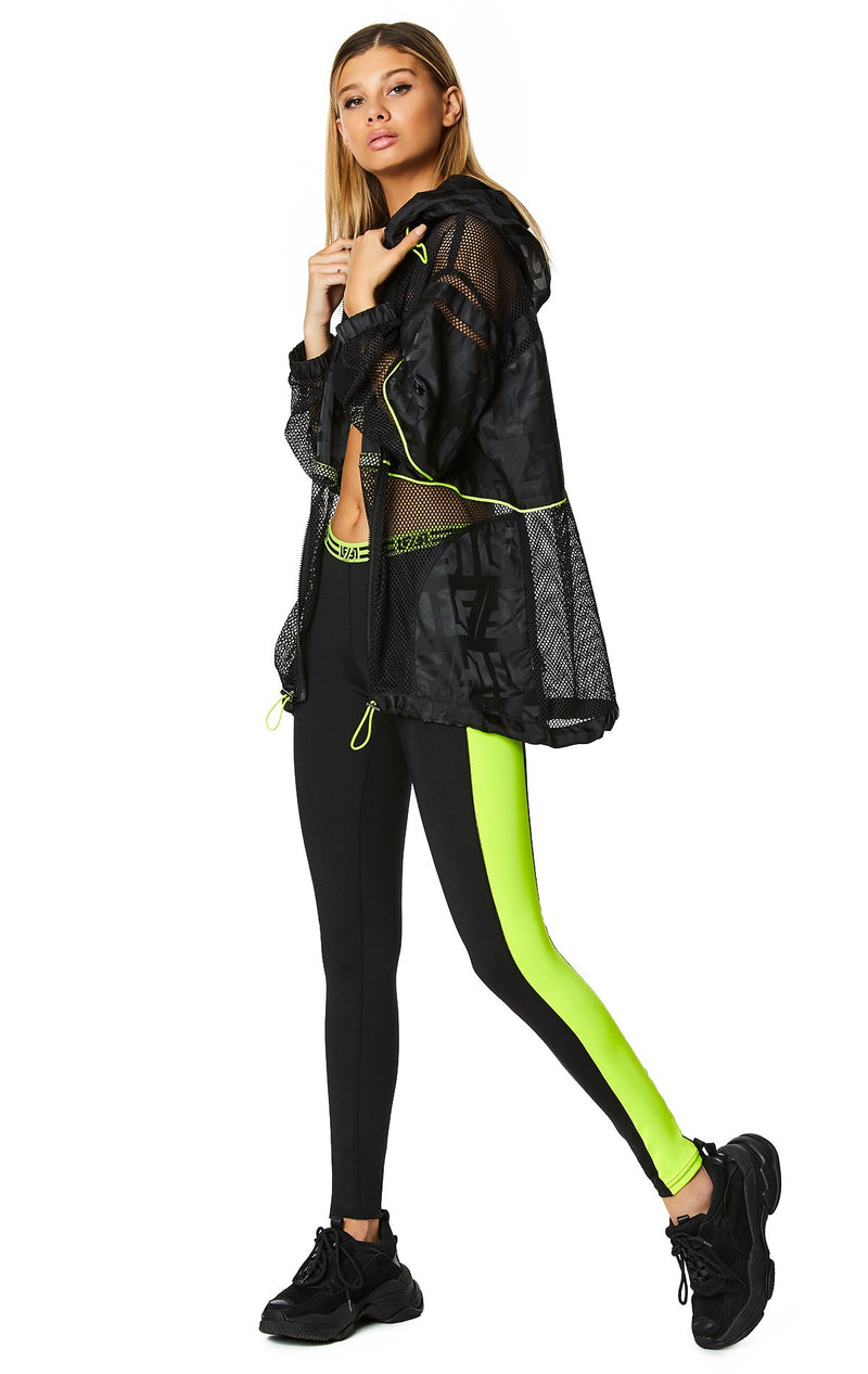 CONTRAST NEON SIDE LEGGING FULL BODY