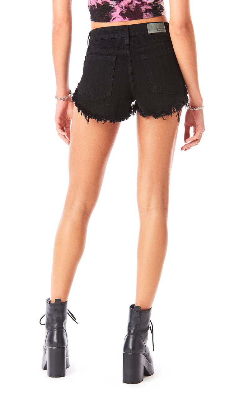 MOGAN MELANITE DENIM SHORT