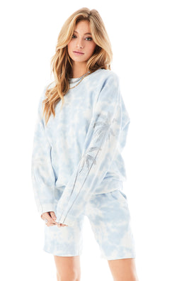 CLOUD TIE DYE SWEAT SHORT