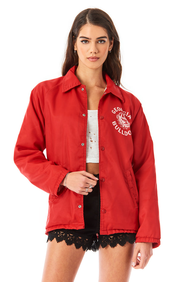 VINTAGE COLLEGE COACH JACKET