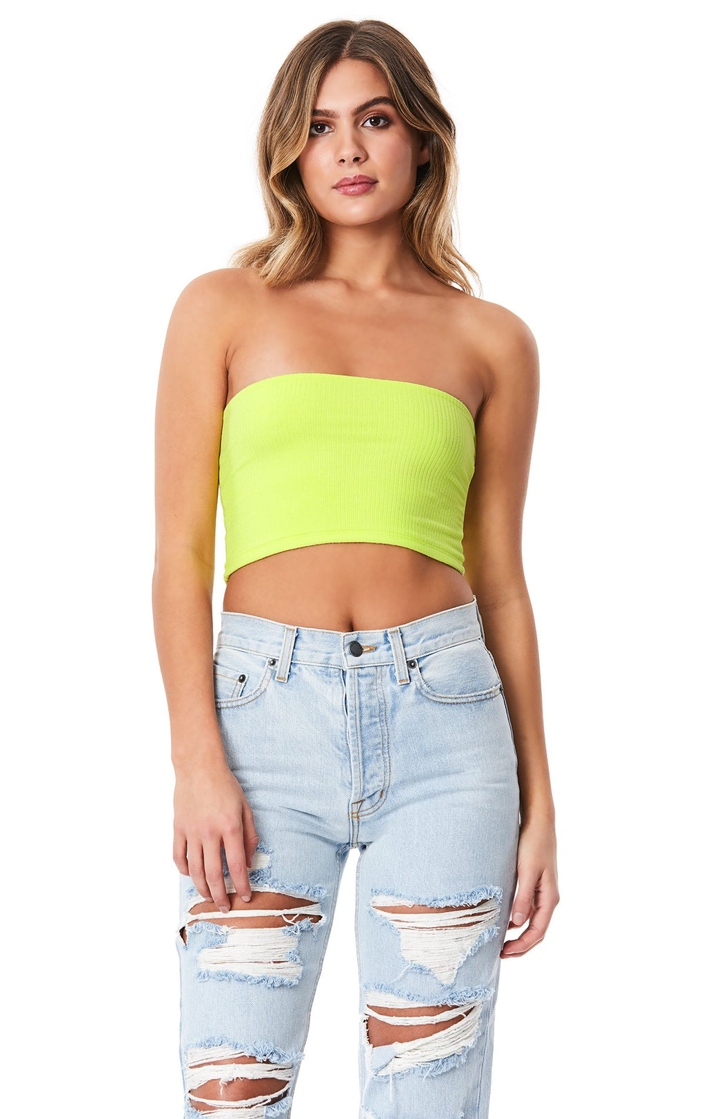 Emma & Sam: NEON TUBE TOP - TUBE