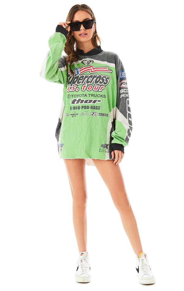 VINTAGE MOTOCROSS LONG SLEEVE T-SHIRT