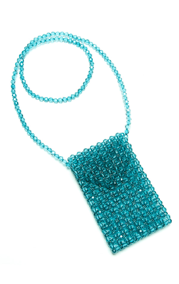 BEADED CROSSBODY PURSE