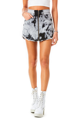 BEATRICE BLEACH DENIM SKIRT