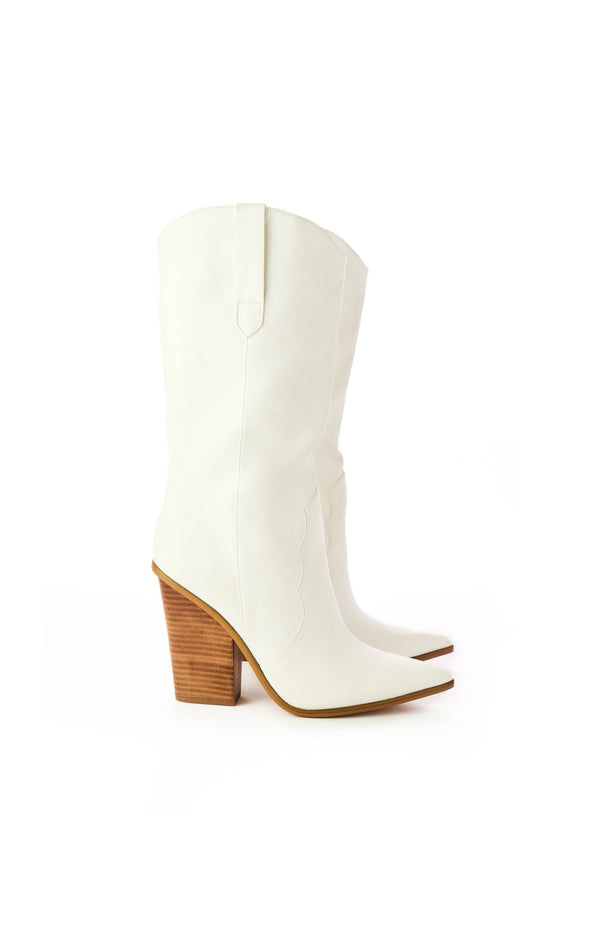 RENZO HIGH HEEL WESTERN BOOT