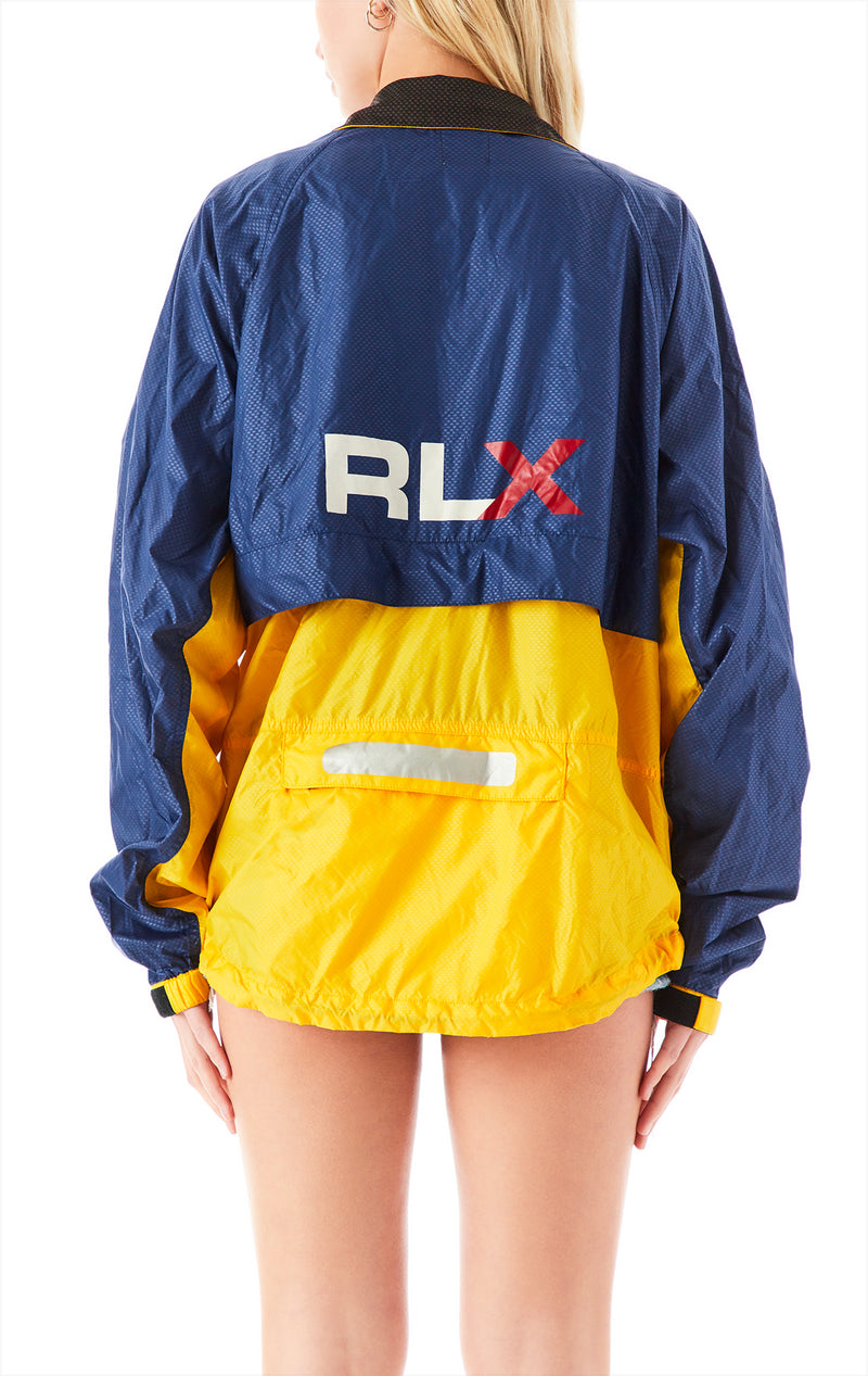 VINTAGE ZIP UP WINDBREAKER JACKET RALPH LAUREN 1