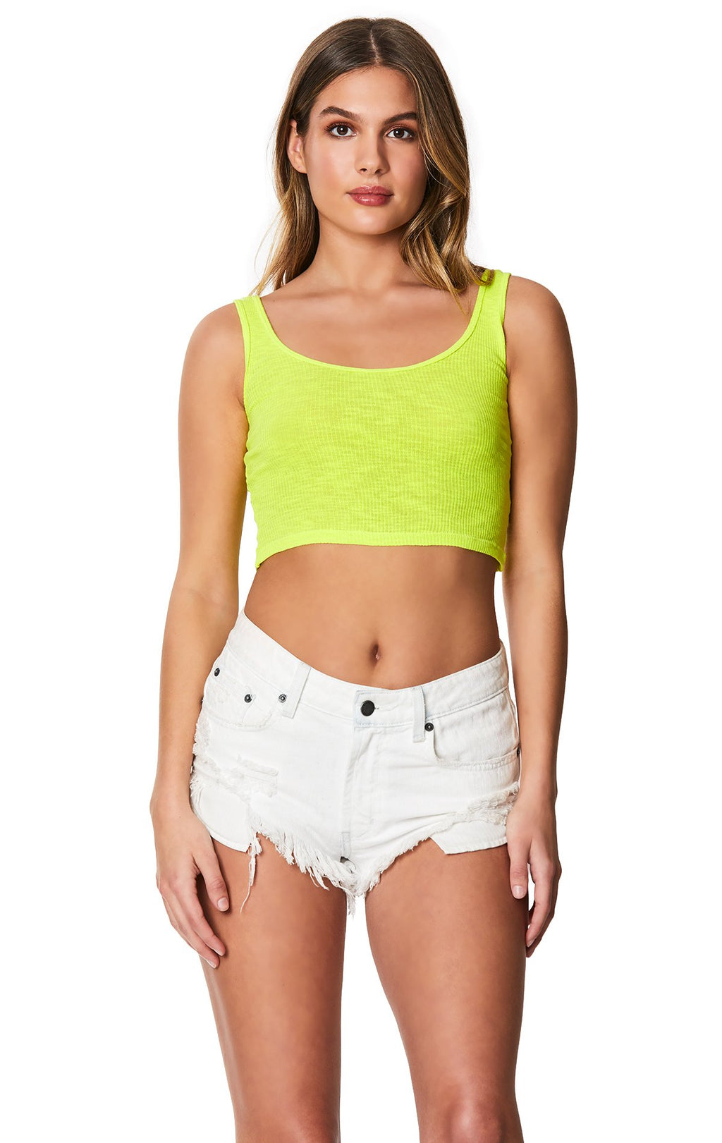 Emma & Sam: NEON POOR BOY TANK - BASIC TANK
