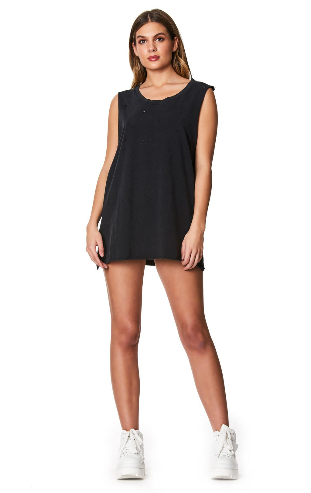 OVERSIZED CUT OUT ARM TANK