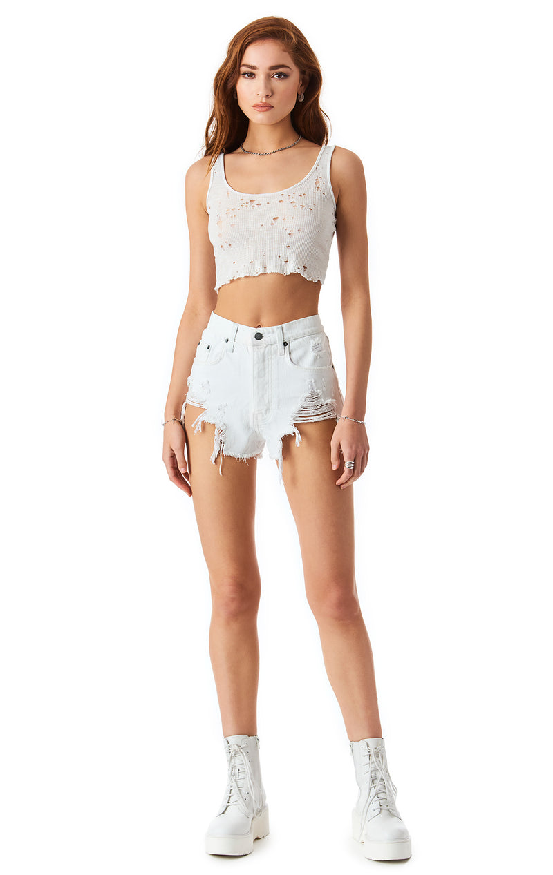 TITANIA STARLITE DENIM SHORT