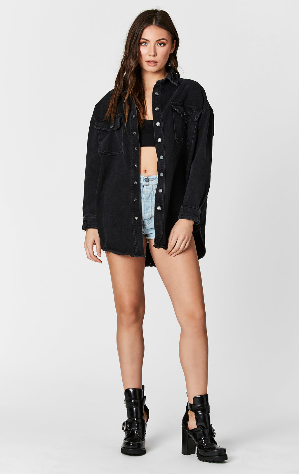OVERSIZED JACKET WITH CARMAR BACK PATCH