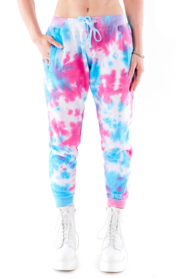 SPLOTCH TIE DYE SWEATPANTS