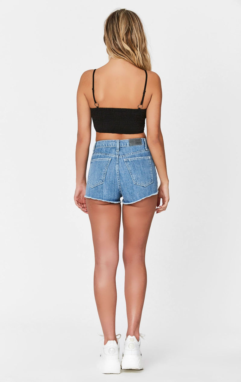 MAGS & PYE SNAP BUTTON CROPPED CAMISOLE BACK
