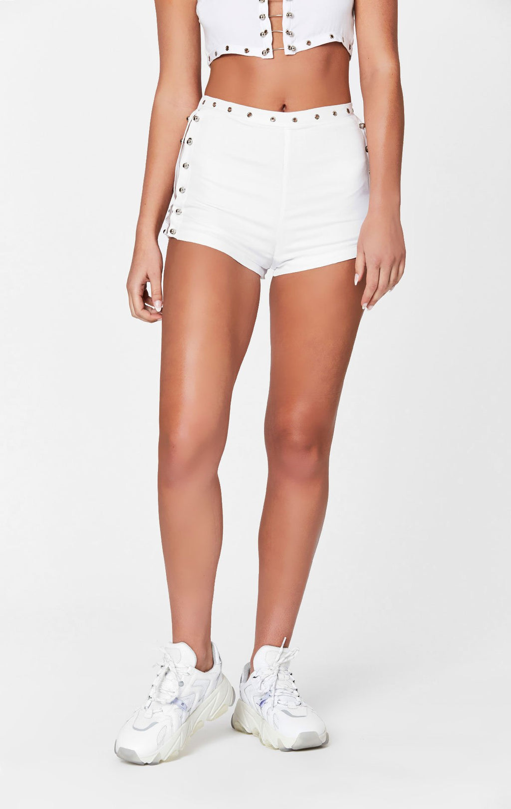 MILLAU BARBELL SHORTS CROP FRONT