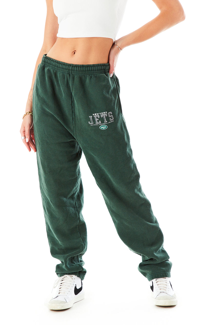 VINTAGE STONEWASHED SWEATPANTS JETS