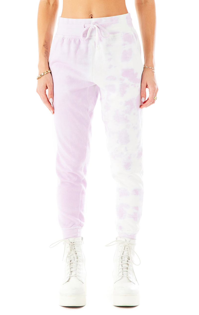 DIAGONAL DIP DYE SWEATPANTS 3
