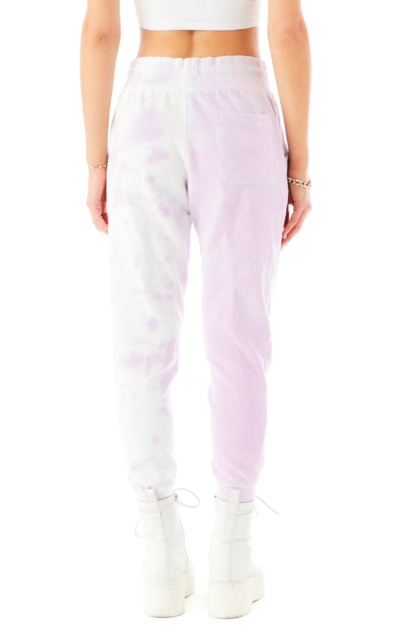 DIAGONAL DIP DYE SWEATPANTS 5